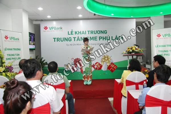Tổ chức sự kiện khai trương trung tâm SME Phú Lâm - Ngân hàng VPBank - 06