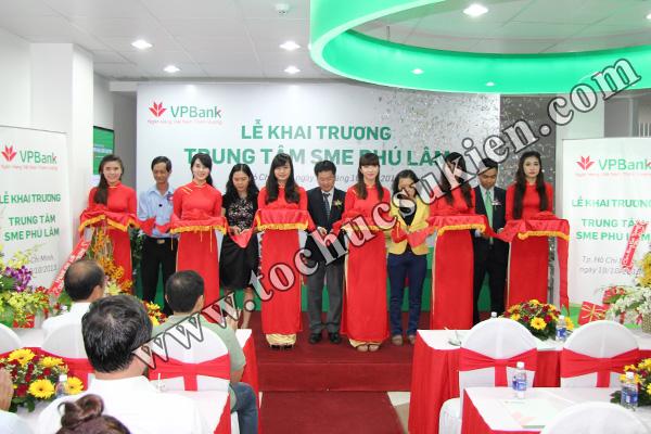Tổ chức sự kiện khai trương trung tâm SME Phú Lâm - Ngân hàng VPBank - 10