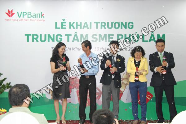 Tổ chức sự kiện khai trương trung tâm SME Phú Lâm - Ngân hàng VPBank - 11