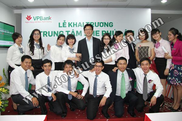 Tổ chức sự kiện khai trương trung tâm SME Phú Lâm - Ngân hàng VPBank - 14