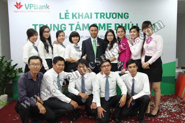 Tổ chức sự kiện khai trương trung tâm SME Phú Lâm - Ngân hàng VPBank - 15