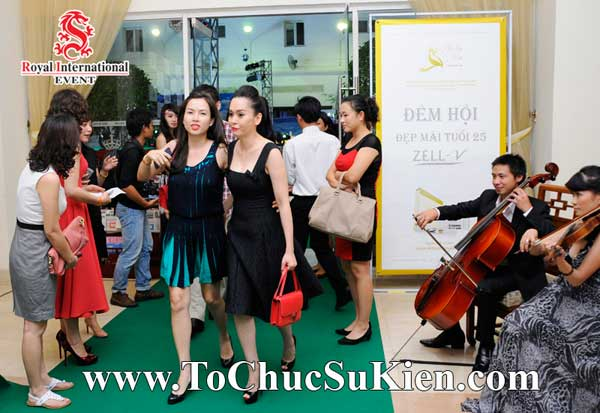 Tổ chức sự kiện Đêm hội Đẹp mãi tuổi 25 - Zéll-V - Khách sạn REX Tp.HCM - 07
