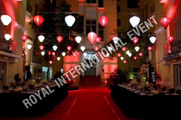 Thiết kế - Trang trí - Cung cấp thiết bị, nhân sự sự kiện Newyear Gala Dinner