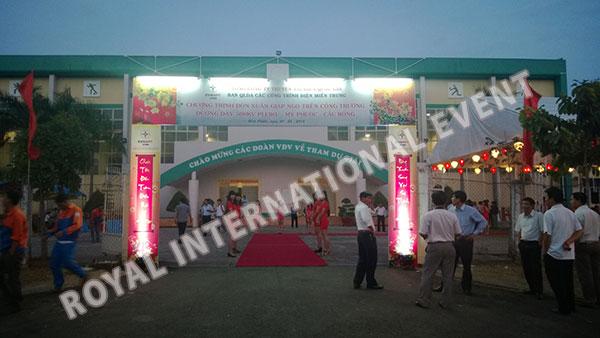 Tổ chức sự kiện Gala Dinner - Lễ đón Xuân Giáp Ngọ - Tổng công ty truyền tải điện Việt Nam - 02