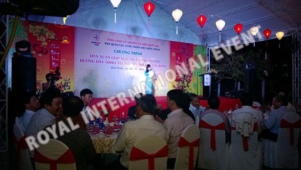 Tổ chức sự kiện Gala Dinner - Lễ đón Xuân Giáp Ngọ - Tổng công ty truyền tải điện Việt Nam - 12