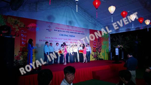 Tổ chức sự kiện Gala Dinner - Lễ đón Xuân Giáp Ngọ - Tổng công ty truyền tải điện Việt Nam - 15