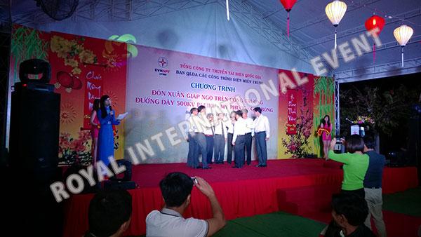 Tổ chức sự kiện Gala Dinner - Lễ đón Xuân Giáp Ngọ - Tổng công ty truyền tải điện Việt Nam - 16