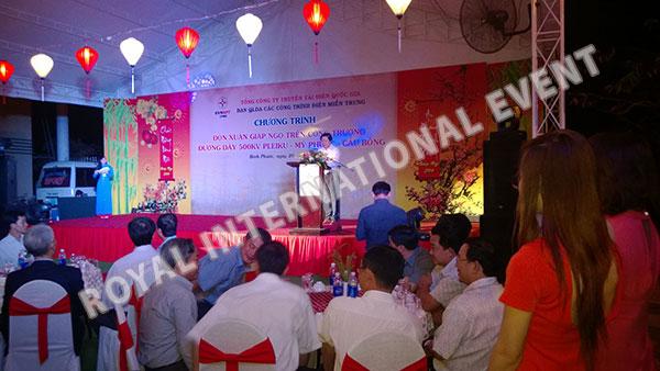 Tổ chức sự kiện Gala Dinner - Lễ đón Xuân Giáp Ngọ - Tổng công ty truyền tải điện Việt Nam