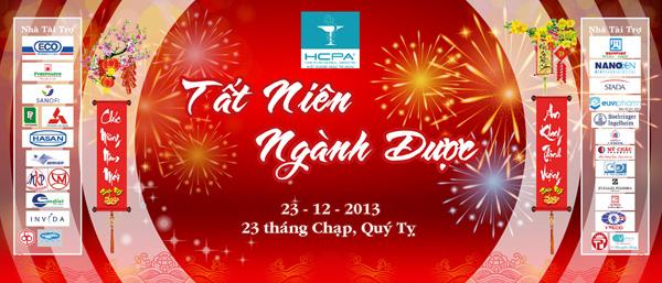 Tổ chức sự kiện Gala Dinner - Tất Niên 2013 Hội Dược Học Tp.HCM - 01