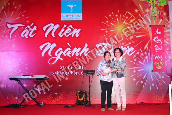 Tổ chức sự kiện Gala Dinner - Tất Niên 2013 Hội Dược Học Tp.HCM - 17