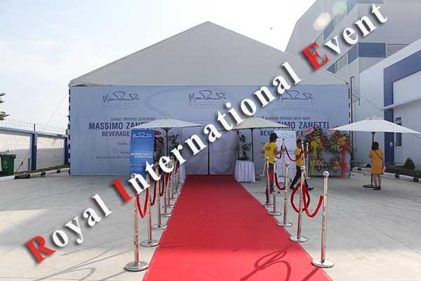 Tổ chức sự kiện - Lễ Khánh thành nhà máy rang xay cà phê Ý - Massimo Zanetti Beverage - 03