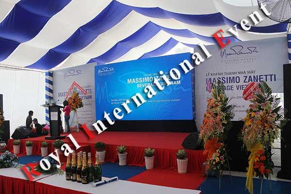 Tổ chức sự kiện - Lễ Khánh thành nhà máy rang xay cà phê Ý - Massimo Zanetti Beverage - 04