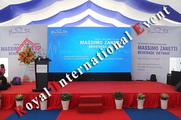 Tổ chức sự kiện - Lễ Khánh thành nhà máy rang xay cà phê Ý - Massimo Zanetti Beverage - 06