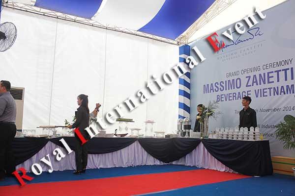 Tổ chức sự kiện - Lễ Khánh thành nhà máy rang xay cà phê Ý - Massimo Zanetti Beverage - 07