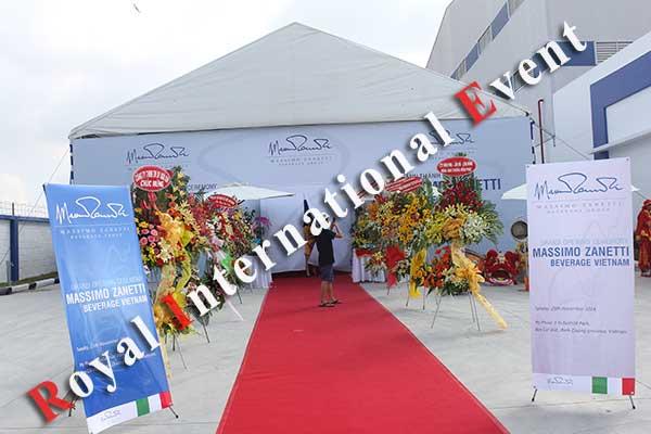 Tổ chức sự kiện - Lễ Khánh thành nhà máy rang xay cà phê Ý - Massimo Zanetti Beverage - 11