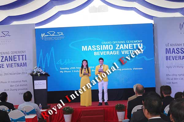 Tổ chức sự kiện - Lễ Khánh thành nhà máy rang xay cà phê Ý - Massimo Zanetti Beverage - 15