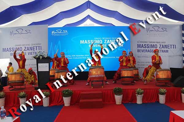 Tổ chức sự kiện - Lễ Khánh thành nhà máy rang xay cà phê Ý - Massimo Zanetti Beverage - 16