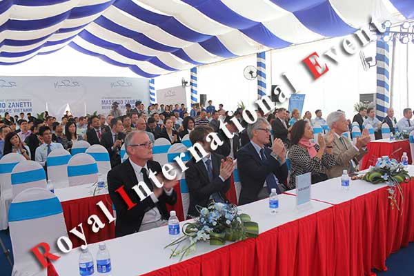Tổ chức sự kiện - Lễ Khánh thành nhà máy rang xay cà phê Ý - Massimo Zanetti Beverage - 19