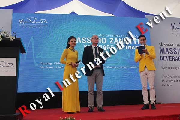 Tổ chức sự kiện - Lễ Khánh thành nhà máy rang xay cà phê Ý - Massimo Zanetti Beverage - 21