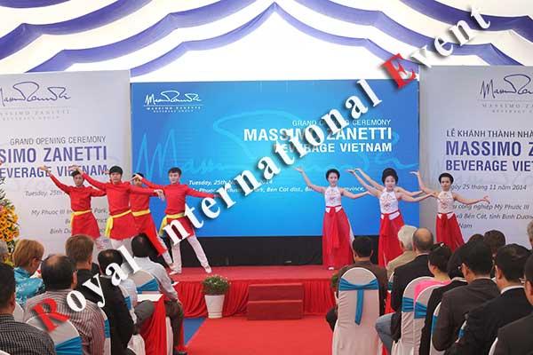 Tổ chức sự kiện - Lễ Khánh thành nhà máy rang xay cà phê Ý - Massimo Zanetti Beverage - 23