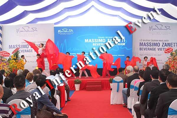 Tổ chức sự kiện - Lễ Khánh thành nhà máy rang xay cà phê Ý - Massimo Zanetti Beverage - 24