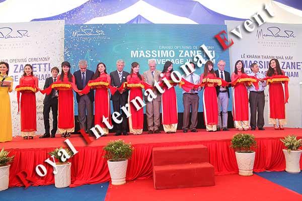 Tổ chức sự kiện - Lễ Khánh thành nhà máy rang xay cà phê Ý - Massimo Zanetti Beverage - 25