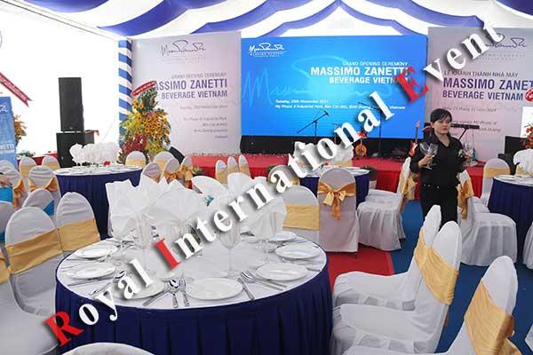 Tổ chức sự kiện - Lễ Khánh thành nhà máy rang xay cà phê Ý - Massimo Zanetti Beverage - 28
