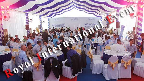 Tổ chức sự kiện - Lễ Khánh thành nhà máy rang xay cà phê Ý - Massimo Zanetti Beverage - 29