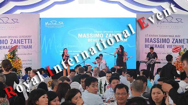 Tổ chức sự kiện - Lễ Khánh thành nhà máy rang xay cà phê Ý - Massimo Zanetti Beverage - 30