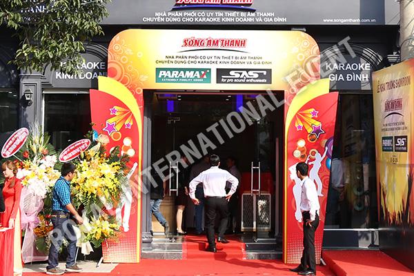 Tổ chức sự kiện Lễ khai trương Showroom Sóng Âm Thanh - 01