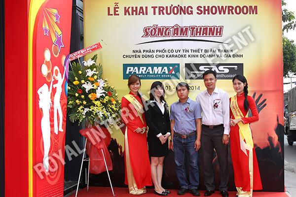 Tổ chức sự kiện Lễ khai trương Showroom Sóng Âm Thanh - 07