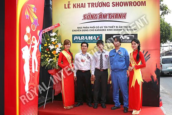 Tổ chức sự kiện Lễ khai trương Showroom Sóng Âm Thanh - 08