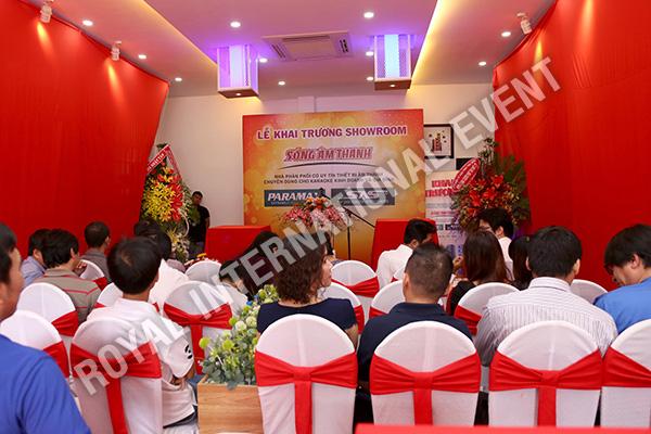 Tổ chức sự kiện Lễ khai trương Showroom Sóng Âm Thanh - 09