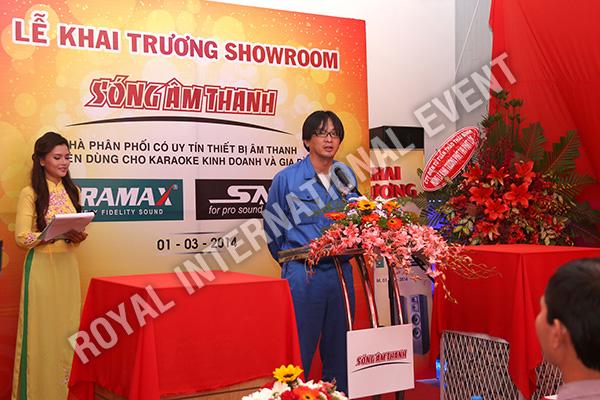 Tổ chức sự kiện Lễ khai trương Showroom Sóng Âm Thanh - 14