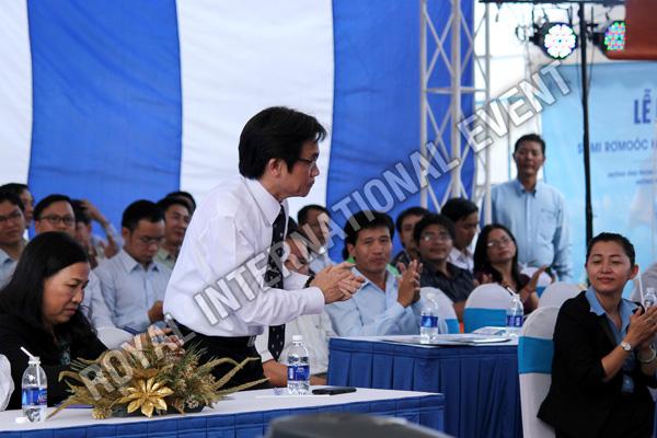 Tổ chức sự kiện Lễ ra mắt sản phẩm Somi Romooc Hoàng Sa - Trường Sa của Công ty Tân Thanh Container - 05