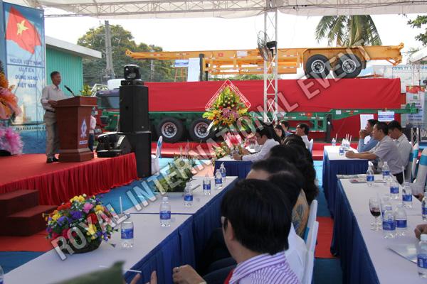 Tổ chức sự kiện Lễ ra mắt sản phẩm Somi Romooc Hoàng Sa - Trường Sa của Công ty Tân Thanh Container - 07
