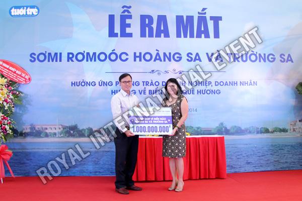 Tổ chức sự kiện Lễ ra mắt sản phẩm Somi Romooc Hoàng Sa - Trường Sa của Công ty Tân Thanh Container - 10
