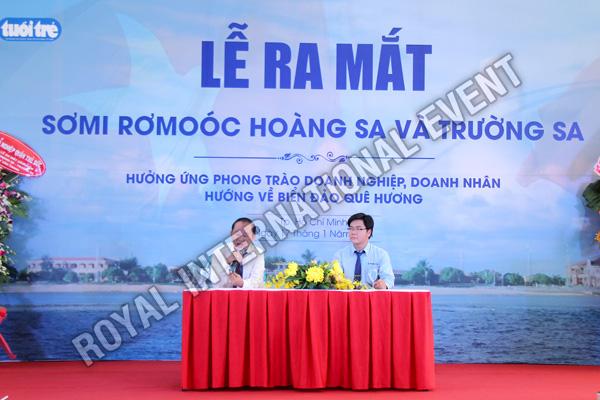 Tổ chức sự kiện Lễ ra mắt sản phẩm Somi Romooc Hoàng Sa - Trường Sa của Công ty Tân Thanh Container - 11