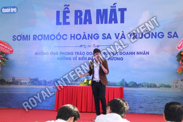 Tổ chức sự kiện Lễ ra mắt sản phẩm Somi Romooc Hoàng Sa - Trường Sa của Công ty Tân Thanh Container - 12