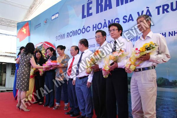 Tổ chức sự kiện Lễ ra mắt sản phẩm Somi Romooc Hoàng Sa - Trường Sa của Công ty Tân Thanh Container - 13