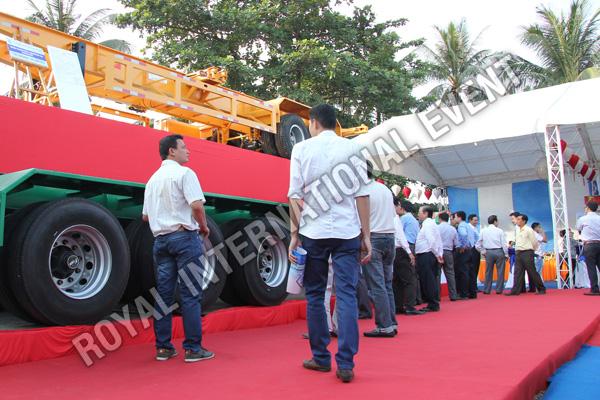 Tổ chức sự kiện Lễ ra mắt sản phẩm Somi Romooc Hoàng Sa - Trường Sa của Công ty Tân Thanh Container - 14