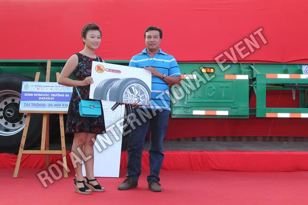 Tổ chức sự kiện Lễ ra mắt sản phẩm Somi Romooc Hoàng Sa - Trường Sa của Công ty Tân Thanh Container - 19