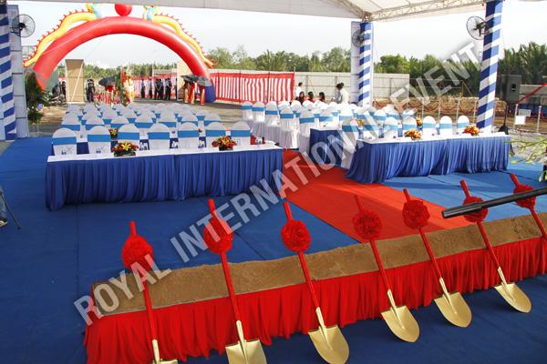 Tổ chức sự kiện Lễ động thổ Khu Kỹ nghệ Việt Nhật - ViePan Techno Park - 03