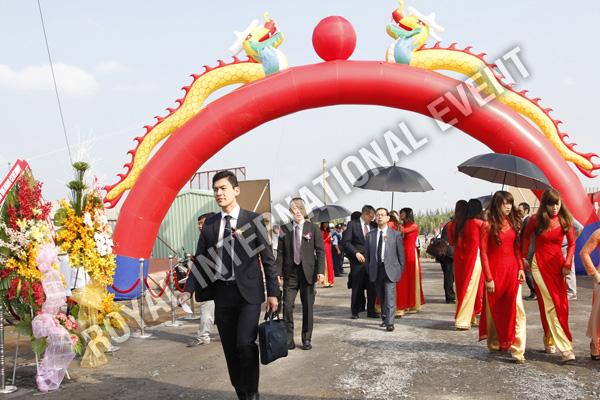Tổ chức sự kiện Lễ động thổ Khu Kỹ nghệ Việt Nhật - ViePan Techno Park - 05