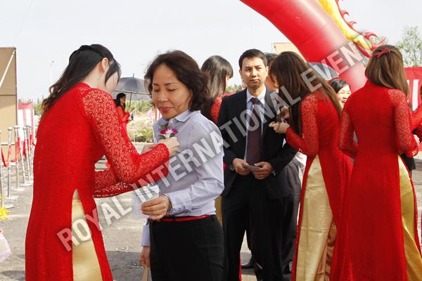 Tổ chức sự kiện Lễ động thổ Khu Kỹ nghệ Việt Nhật - ViePan Techno Park - 06