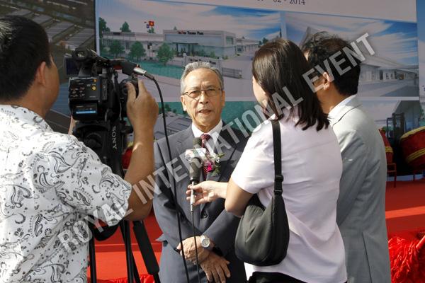 Tổ chức sự kiện Lễ động thổ Khu Kỹ nghệ Việt Nhật - ViePan Techno Park - 08