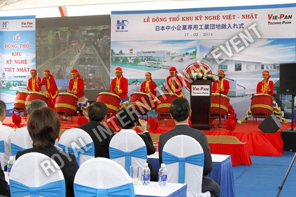 Tổ chức sự kiện Lễ động thổ Khu Kỹ nghệ Việt Nhật - ViePan Techno Park - 13