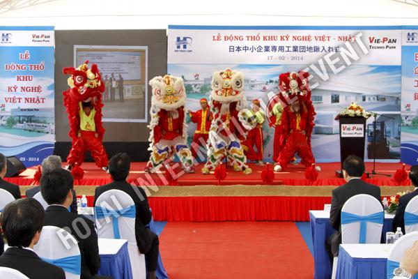 Tổ chức sự kiện Lễ động thổ Khu Kỹ nghệ Việt Nhật - ViePan Techno Park - 14