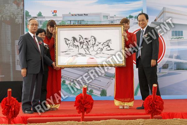 Tổ chức sự kiện Lễ động thổ Khu Kỹ nghệ Việt Nhật - ViePan Techno Park - 20