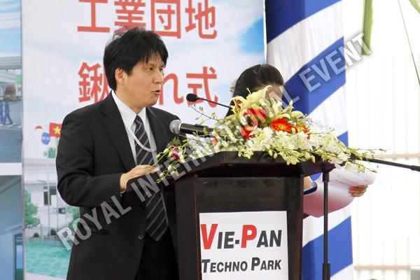 Tổ chức sự kiện Lễ động thổ Khu Kỹ nghệ Việt Nhật - ViePan Techno Park - 21